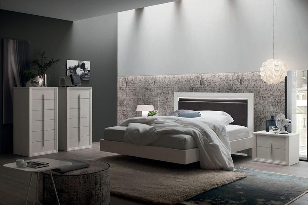 Letto iris for 2 piani casa moderna camera da letto